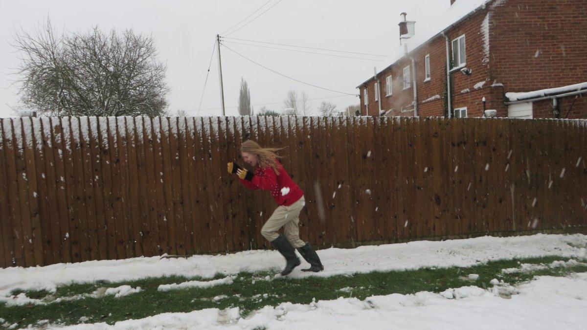 Snow at Honington, Warwickshire