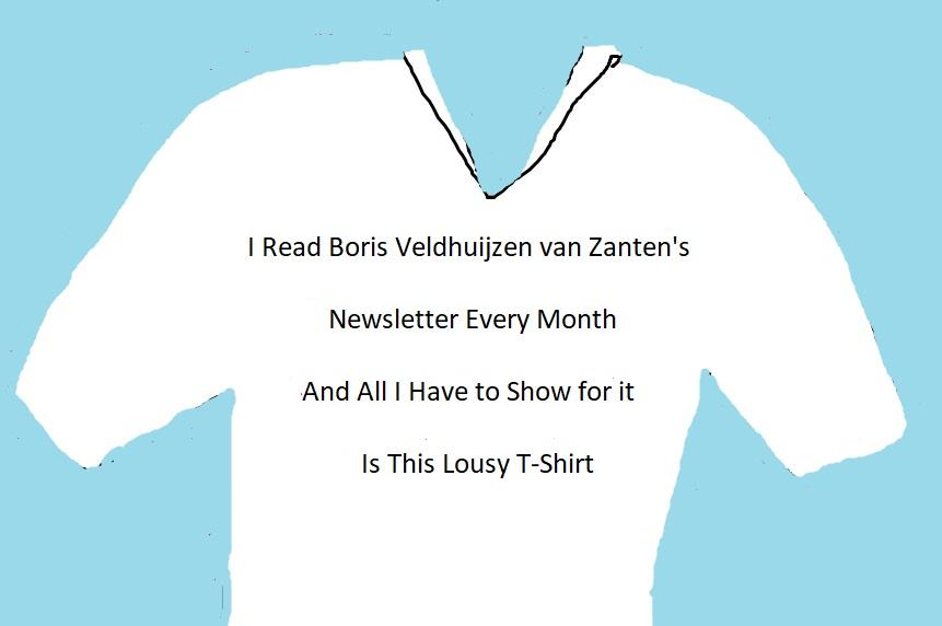 Boris Veldhuijzen van Zanten T Shirt