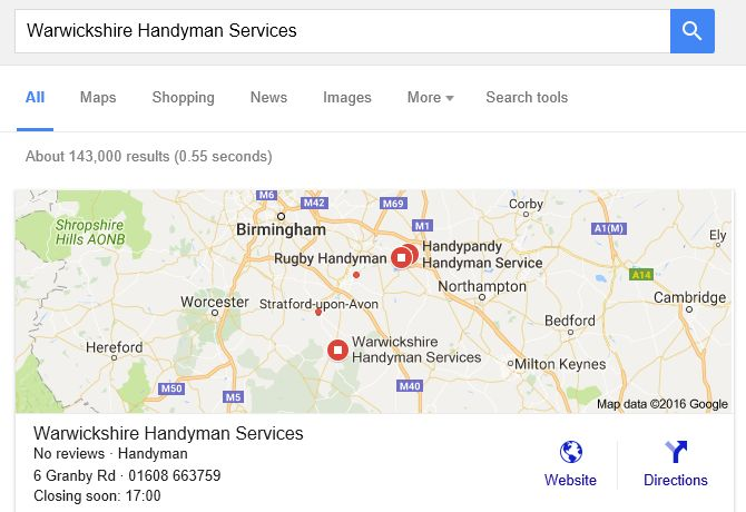 Google My Business Set Up Service
