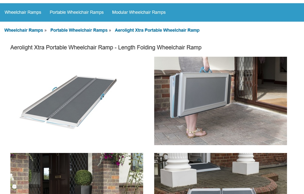 wheelchair ramps website for sale