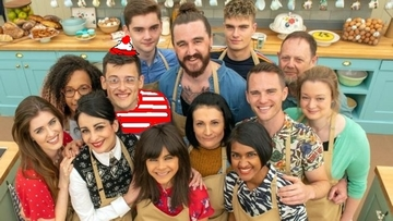 Where's Wally on Great British Bake Off